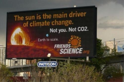 friends of science billboard