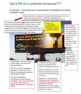 publicite trompeuse ACSQ hypothesis