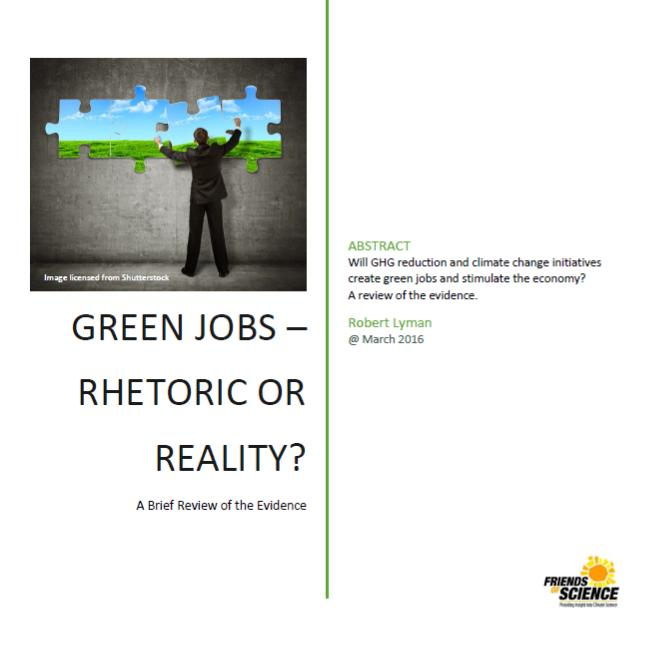 cover green jobs rhetoric or reality