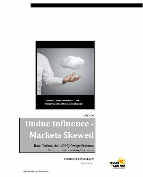 cover undue influence markets skewed