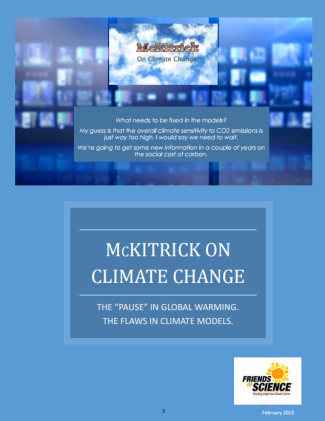 McKitrick on Climate Change cover